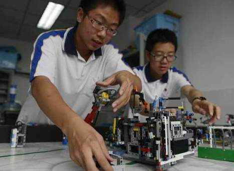 Robotics programs gaining ground[1]- Chinadaily.com.cn | Teach-ologies | Scoop.it