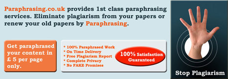 Paraphrasing – all about paraphrasing services   Education   Scoop.it