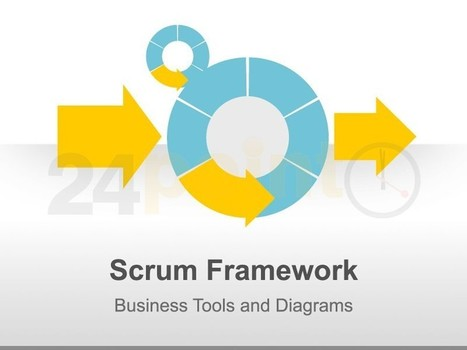 Scrum Methodology - Editable in PowerPoint | Buenas prácticas para la Gestión de Proyectos | Scoop.it