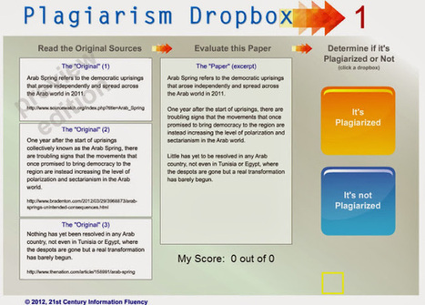 The Keyword Blog: Plagiarism Dropbox: Inexpensive licenses for school districts. | Computer Technology for Learning in High Education | Scoop.it