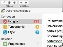 Antidote - Correcteur orthographique et grammatical | François MAGNAN  Formateur Consultant | Scoop.it