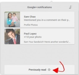 Beginner's Guide To Google+ Notifications | GooglePlus Expertise | Scoop.it