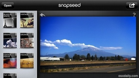 Snapseed: the Best Photo Editing App for iPhone & iPad is Now Free | iPads in K-6 | Scoop.it