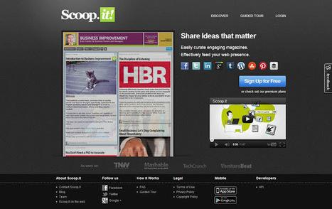 5 Content Curation Tools To Help You Build Content | Social Mercor | Scoop.it