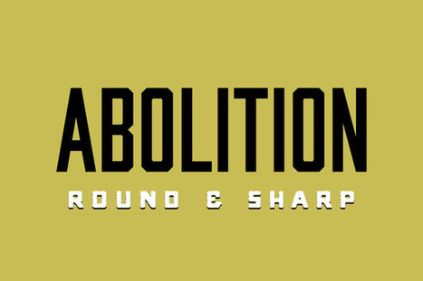 Free Font : Abolition Family | Ilya | Scoop.it