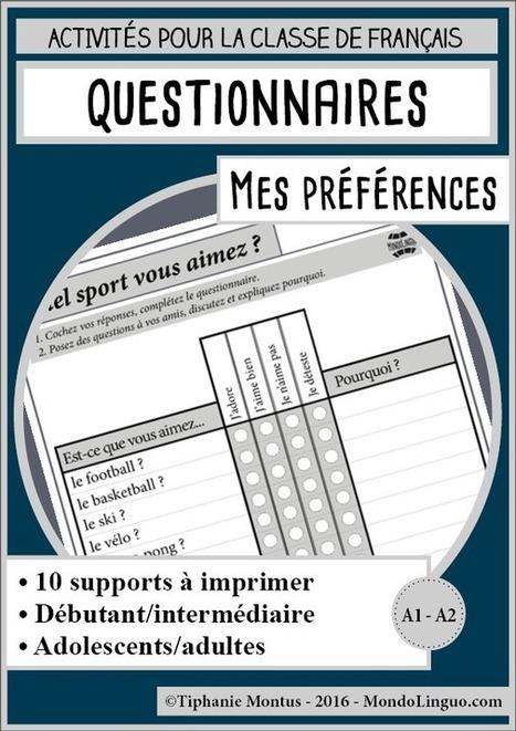 Mes préférences | Mondolinguo - Français | FLE enfants | Scoop.it
