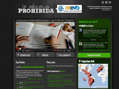La Educación Prohibida | Video for Learning | Scoop.it