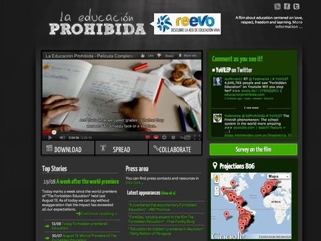 La Educación Prohibida | Video for Learning | Scoop.it