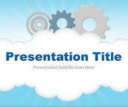 Cloud Computing PowerPoint Template | Load Balancing Model | Scoop.it