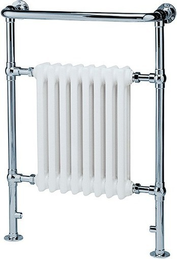 Victoria traditional bathroom radiator and towel rail (chrome). 584x945mm. Hydra HI-VICTORIA | Showers, Taps & Bathrooms | Scoop.it