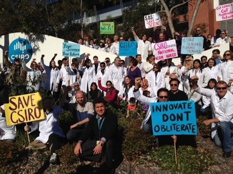 Australian scientists take to the streets to protest job cuts | Higher Education and academic research | Scoop.it