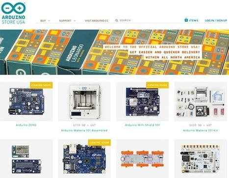 New Arduino Store Launches In The US - Geeky Gadgets | Raspberry Pi | Scoop.it