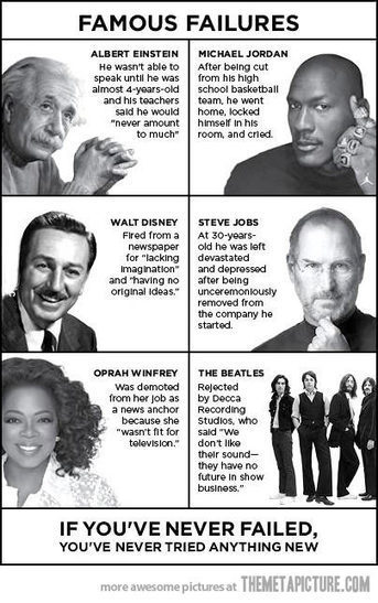 A Wonderful Poster on Failure | iGeneration - 21st Century Education | Scoop.it