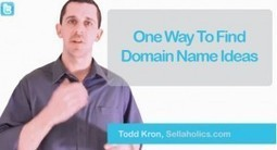 One Way To Choose A Good Domain Name | Marketing | Scoop.it