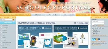 Schoolbordportaal: 'i3LEARNHUB digibord tools en animaties'. Gratis te gebruiken! | Edu-Curator | Scoop.it