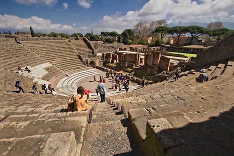 PHOTO: The Great Theater at Pompeii, Italy | ancient history core study: cities of vesuvius | Scoop.it