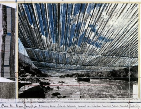 Christo veut emballer le fleuve Arkansas | Architecture pour tous | Scoop.it