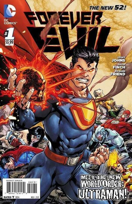 Trois couvertures variantes pour Forever Evil #1 | DC Planet | comics book | Scoop.it