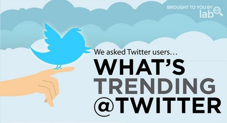 Comment les gens utilisent-ils Twitter? ★ Mashable | infographies | Scoop.it