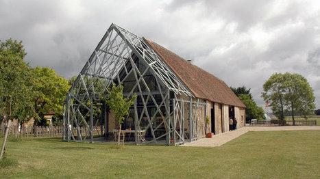 Une grange réhabilitée : tradition, modernité et simplicité d'une rénovation très développement durable   Rendons visibles l'architecture et les architectes   Scoop.it
