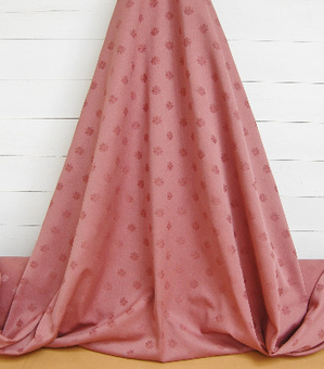 Mulberry cotton brocade fabric with pretty flower detailing, for curtains, drapes etc. 36 m's available. | Welcome to Discount Fabrics Lincs | Scoop.it