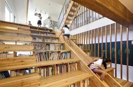 Cool Bookish Places: The Slide Library - BOOK RIOT | Biblioteci | Scoop.it