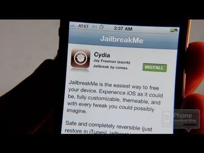 How to Jailbreak the iPhone Using JailbreakMe - Tutorial | IPhone Unlockers | Scoop.it