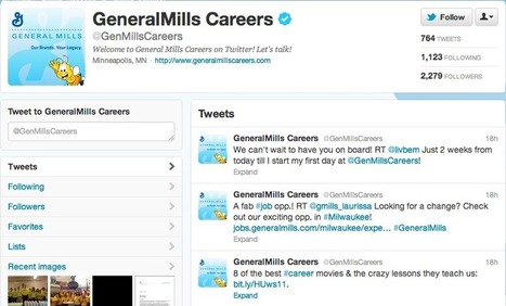 How to Create a Social Recruiting and Branding Strategy Like General Mills | Rewarding Recruitment Scoop | Scoop.it