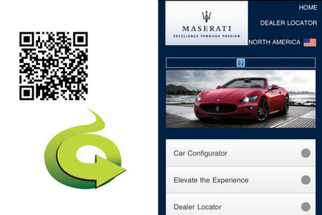 Maserati uses customized print ad QR codes to allow consumers to build their car - QR Code Press | AniseSmith QR codes | Scoop.it