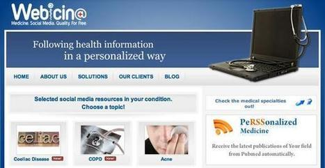Webicina: Medicine and the Social Web | Educational Technology in Medical Education | Scoop.it