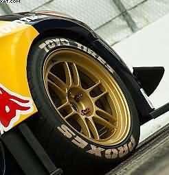 Changing car tyres