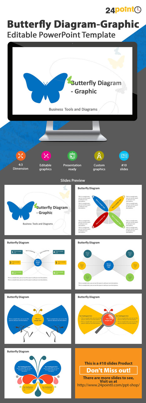 Cause & Effect Butterfly Diagram- PowerPoint Template | PowerPoint Presentation Tools and Resources | Scoop.it