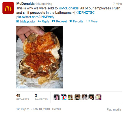 Burger King's Twitter Account Hacked | The Power of Social Media | Scoop.it