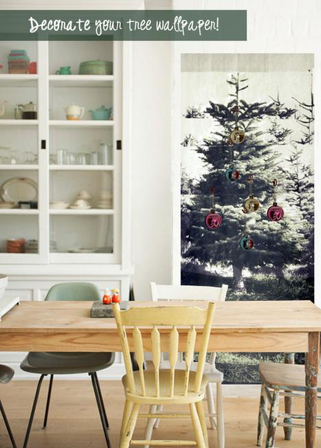 Happy Interior Blog: Stylish Christmas Tree Alternative   Interior Design & Decoration   Scoop.it