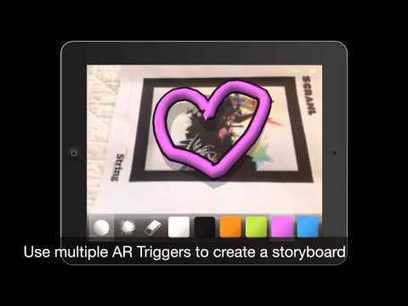 Using AR to Improve Writing and Storytelling via AppSmashing Part I ... | AR-nology | Scoop.it