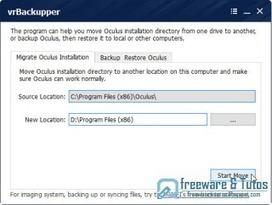 vrBackupper : un logiciel de sauvegarde et de migration pour l'Oculus Rift | Freewares | Scoop.it