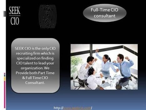 CIO Executive Search Firms - Seekcio (CIO Executive Search Firms) Ppt Presentation   CIO Recruiting Firm   Scoop.it