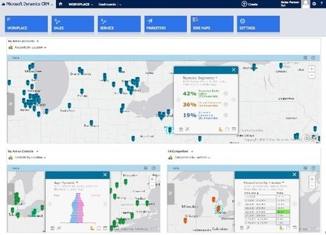 Esri Maps for Dynamics CRM 1.0.1 Now Released | ArcGIS Blog | Site Marker Weekly | Scoop.it