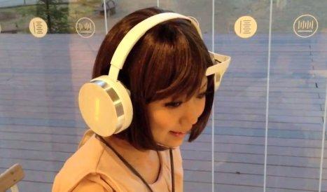 Les écouteurs qui lisent dans votre tête et choisissent la musique selon votre humeur | ImNerdy | Scoop.it