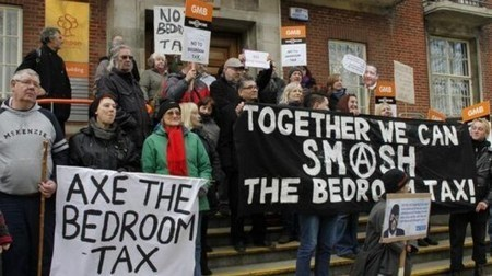 Thousands turn out for Bedroom Tax protests - but what happens next? | Human Rights & Political Journal | Scoop.it