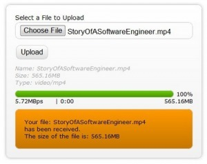 Tutorial: HTML5 File Upload with Progress Bar | nyentrik - Bleeding Edge Best Resources for Web Developers | Open Web Platform | Scoop.it