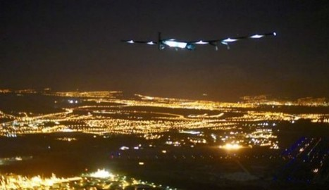 Solar Impulse 2 Flies For 118 Hours Setting A New World Record, Attempting To Circle The Globe | Aerospace industry watch - Paris Air Show | Scoop.it