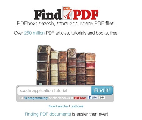 Find PDF Books: search and find over 250 million PDF ebooks, manuals and tutorials | Alt Digital | Scoop.it