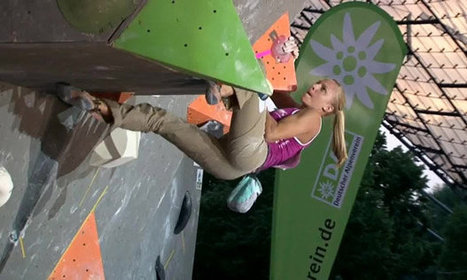 Watch: 'Bouldering' is a sport that turns people into flying spider people - Entertainment.ie | rock climbing gear | Scoop.it