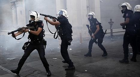 Turquie: la police descend le drone d'un manifestant [VIDÉO] - Slate.fr | Géographie : les dernières nouvelles de la toile. | Scoop.it