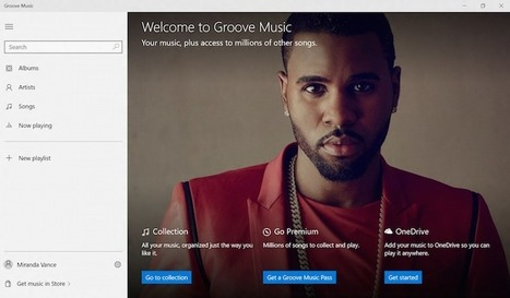 Microsoft Unveils Their New Streaming Service… | MUSIC:ENTER | Scoop.it