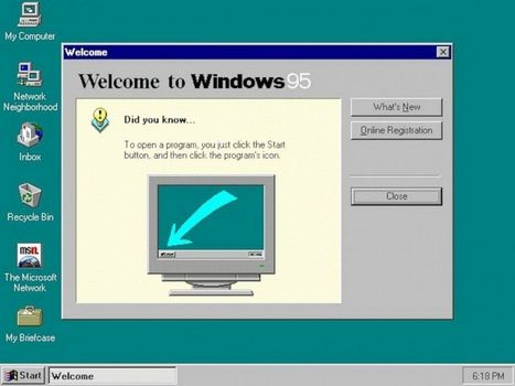 "Why Windows 95 Was a Game-Changer for Computer Users | Buffy Hamilton's Unquiet Commonplace ""Book"" 