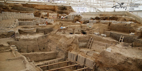 Neolithic Site of Catalhoyuk in Konya, Turkey | Go Turkey Tourism - www.goturkeytourism.com | Neolithic Life | Scoop.it