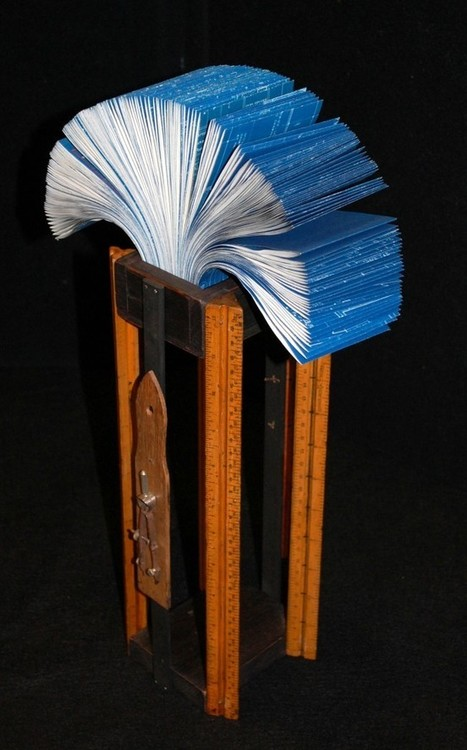 Bookmarking Book Art - Bookworks 14, Cincinnati Book Arts Society's Annual Exhibit | Book Promotion & Publicity | Scoop.it