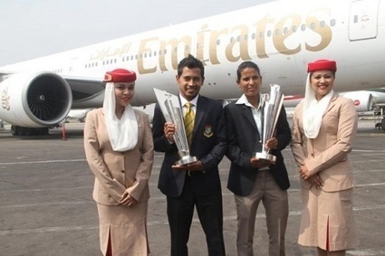 T20 World Cup 2014 Trophies Arrive in Bangladesh | Googly Mania | Scoop.it